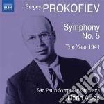 Prokofiev Sergei - Sinfonia N.5, Op.100, L'anno 1941 Op.90 cd musicale di Sergei Prokofiev