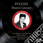 Manon lescaut cd musicale di Giacomo Puccini