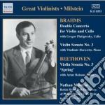 Concerto per violino e violoncello op.10 cd musicale di Johannes Brahms