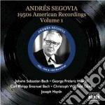 American recordings, vol.1: anni '50 cd musicale di Andres Segovia