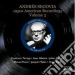 American recordings, vol.3: anni '50 cd musicale di Andres Segovia