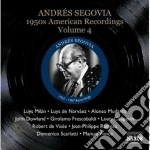 American recordings, vol.4: 1950 cd musicale di Andres Segovia