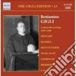Gigli edition, vol.13: londra 1947-1949 cd musicale di Beniamino Gigli