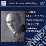 Concerto per pianoforte op.54 cd musicale di Robert Schumann