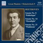 Sonata per pianoforte n.8, n.14, n.21 cd musicale di Beethoven ludwig van