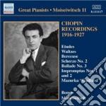 Improvvisi, valzer, mazurche, notturni,. cd musicale di Fryderyk Chopin