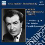 Preludi op.28, ballate, fantasia-improvv cd musicale di Fryderyk Chopin