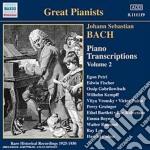 Trascrizioni per pianoforte, vol.2 cd musicale di Johann Sebastian Bach