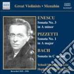 Sonata per violino n.3 cd musicale di George Enescu