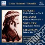 Concerto per violino n.3 k 216 cd musicale di Wolfgang Amadeus Mozart