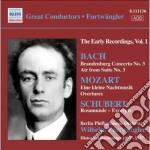 Concerto brandeburghese n.3, aria sulla cd musicale di Johann Sebastian Bach