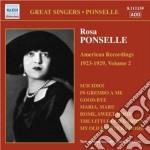 American recordings, vol.2: 1923-1929 cd musicale di Rosa Ponselle