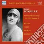 American recordings vol.4: 1923-1929 cd musicale di Rosa Ponselle