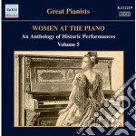 Women at the piano, vol.5 cd musicale di Miscellanee