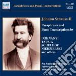 Strauss Johann - Parafrasi E Trascrizioni Per Pianoforte cd musicale di Johann Strauss