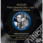 Quartetto con pianoforte n.1 k 478, n.2 cd musicale di Wolfgang Amadeus Mozart
