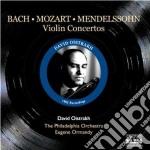 Concerto per violino cd musicale di Felix Mendelssohn