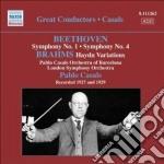 Sinfonia n.1 op.21, n.4 op.60, le rovine cd musicale di Beethoven ludwig van