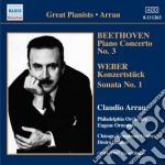 Concerto per pianoforte n.3 op.37 cd musicale di Beethoven ludwig van