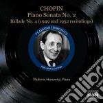 Sonata per pianoforte n.2, ballata n.4, cd musicale di Fryderyk Chopin