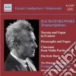 Stokowski transcriptions (1927-1939): tr cd musicale di Johann Sebastian Bach