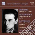Sinfonia n.1 op.68 cd musicale di Johannes Brahms