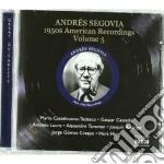 American recordings, vol.5: anni '50 cd musicale di Andres Segovia
