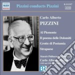Al piemonte, poema delle dolomiti, grott cd musicale di Pizzini carlo albert