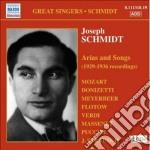 Arias and songs (arie d'opera e liriche cd musicale di Joseph Schmidt