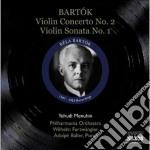 CONCERTO PER VIOLINO N.2 , SONATA PER VI  cd musicale di Bela Bartok