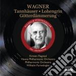 TANNH?SER, LOHENGRIN, CREPUSCOLO DEGLI 2  cd musicale di Richard Wagner