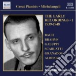 The early recordings, vol.1: 1939-1948 cd musicale di Michelange Benedetti