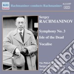 SYMPHONY NO.3- ISLE OF THE DEAD- VOCALIS  cd musicale di Sergei Rachmaninov