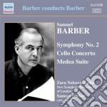 SINFONIA N.2, CONCERTO PER VIOLONCELLO,   cd musicale di Samuel Barber