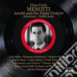 Amahl and the night visitors, sebastian cd musicale di Menotti gian carlo
