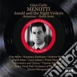 Amahl and the night visitors, sebastian cd musicale di Menotti gian carlo