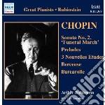 Chopin Fryderyk - Sonata Per Pianoforte N.2 Op.35, Preludi Op.28, 3 Nouvelles Etudes cd musicale di Fryderyk Chopin