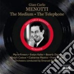 The medium, telephone cd musicale di Menotti gian carlo