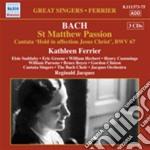 Passione secondo matteo, cantata bwv 67 cd musicale di Johann Sebastian Bach