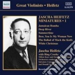 Heifetz Jascha - Miniatures, 1 - Great Violinists - Heifetz 1944-1946 cd musicale di Jascha Heifetz