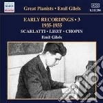 Early recordings, vol.3: 1935-1955 cd musicale di Emil Gilels