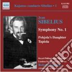 Kajanus conducts sibelius, vol.1: sinfon cd musicale di Jean Sibelius