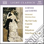 Selezione dai brani orchestrali cd musicale di Lerner alan jay & lo