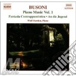 Piano music vol.1 cd musicale di Ferruccio Busoni