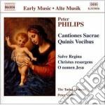 Mottetti, cantiones sacrae quinis vocibu cd musicale di Peter Philips