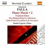 Opere per pianoforte (integrale), vol.2 cd musicale di Falla emanuel de