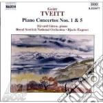 Piano concertos nos.1 & 5 cd musicale di TVEITT