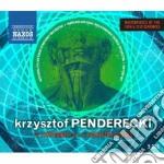 Sinfonie e altre opere orchestrali cd musicale di Krzysztof Penderecki