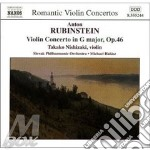 Violin concert cd musicale di Anton Rubinstein