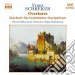 Ouvertures: ekkehard, fantastic ouvetrur cd musicale di Franz Schreker